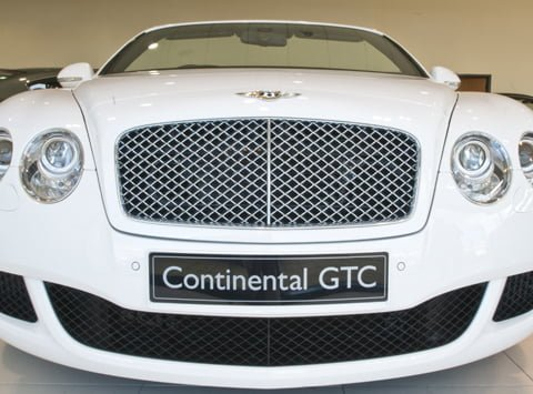 Bentley Continental GTC Showroom