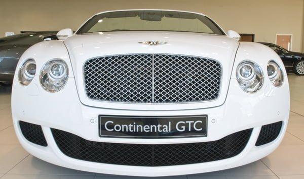 Bentley Continental GTC Showroom