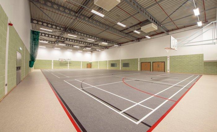 Ysgol Maes y Gwendraeth Sports Hall