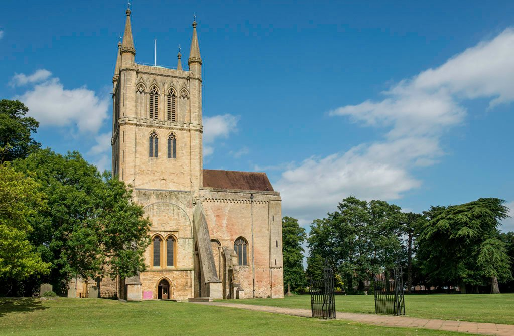 Pershore Abbey Worcestershire