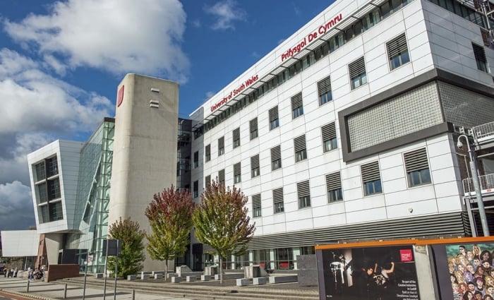 South Wales University Cardiff - The Atrium