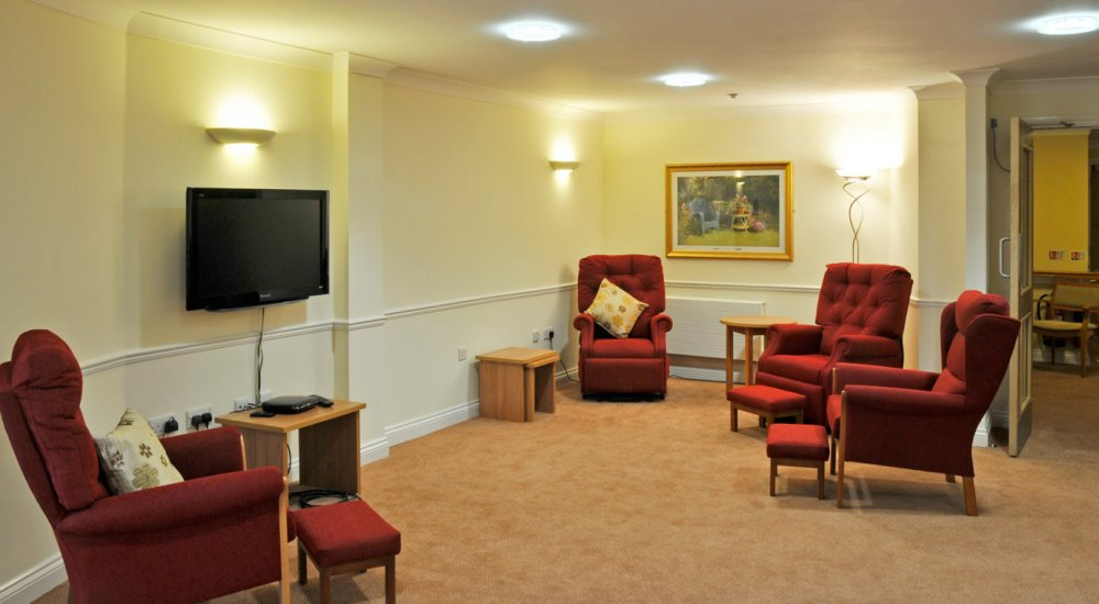 Care Home Living Room