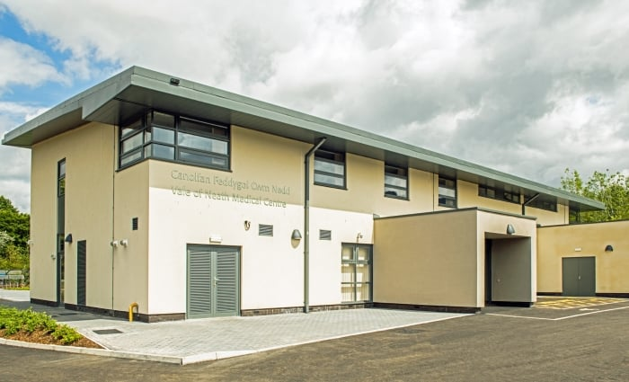 Glynneath Medical Centre Entrance